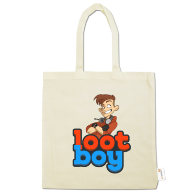 Motiv: Baumwolltasche - LootBoy - Logo