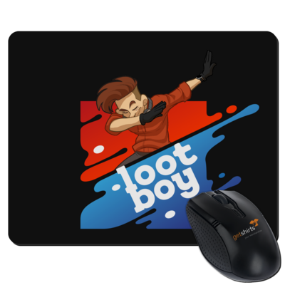 Motiv: Mousepad Textil - LootBoy - The Dab