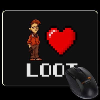 Motiv: Mousepad Textil - LootBoy - Pixel Loot