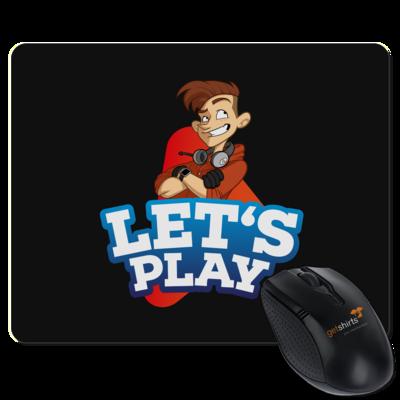 Motiv: Mousepad Textil - LootBoy - Lets Play