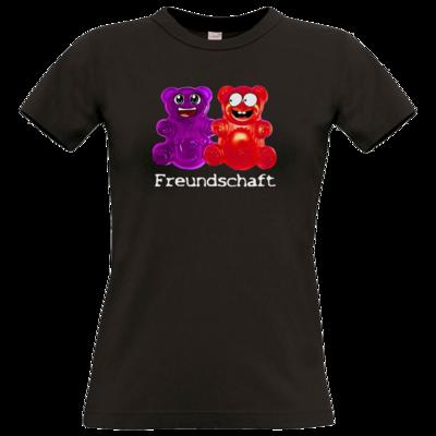 Motiv: T-Shirt Damen Premium FAIR WEAR - Lucky - Freundschaft