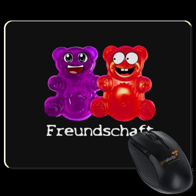 Motiv: Mousepad Textil - Lucky - Freundschaft