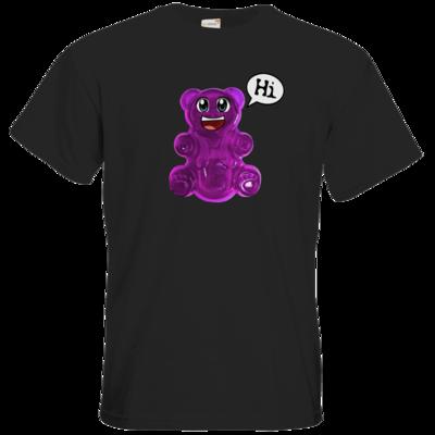 Motiv: T-Shirt Premium FAIR WEAR - Lucky - Logo Maedchen