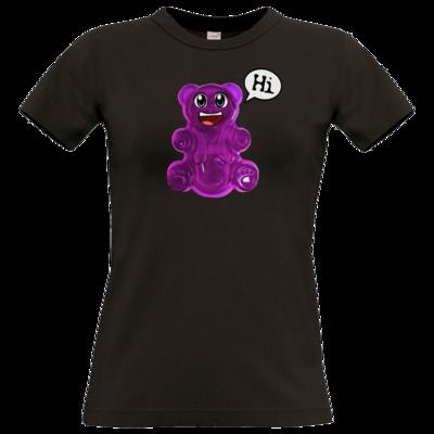 Motiv: T-Shirt Damen Premium FAIR WEAR - Lucky - Logo Maedchen