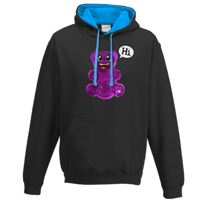 Motiv: Two-Tone Hoodie - Lucky - Logo Maedchen