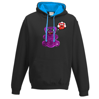 Motiv: Two-Tone Hoodie - Lucky - Maedchen