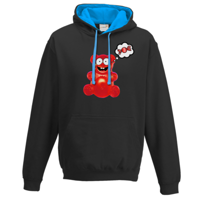 Motiv: Two-Tone Hoodie - Lucky - Candy