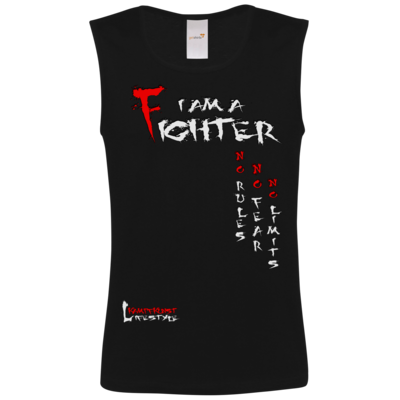 Motiv: Athletic Vest FAIR WEAR - Kampfkunst Lifestyle - I am a Fighter