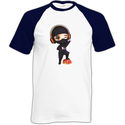 Motiv: Baseball-T FAIR WEAR - D1rtyd3vil - Loot Ninja
