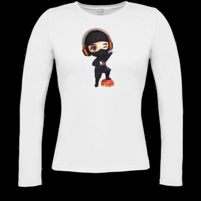 Motiv: Longsleeve Damen FAIR WEAR - D1rtyd3vil - Loot Ninja