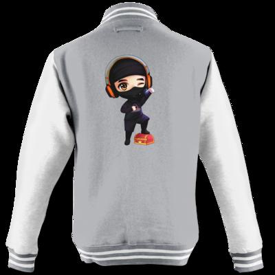 Motiv: College Jacke - D1rtyd3vil - Loot Ninja