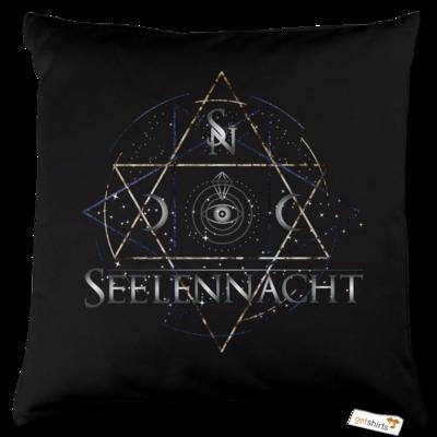 Motiv: Kissen Baumwolle - Seelennacht - Occult Astronomy