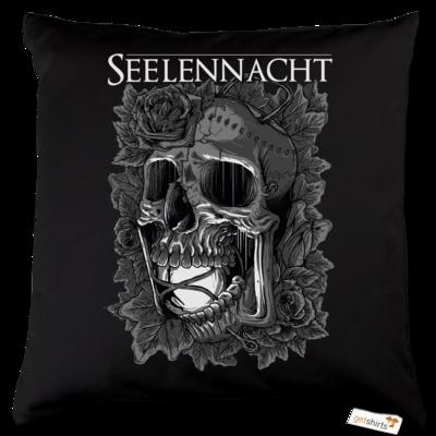 Motiv: Kissen Baumwolle - Seelennacht - Skull Lantern