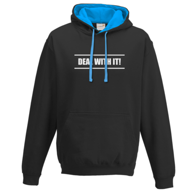 Motiv: Two-Tone Hoodie - Deal With It