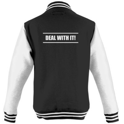 Motiv: College Jacke - Deal With It - Style