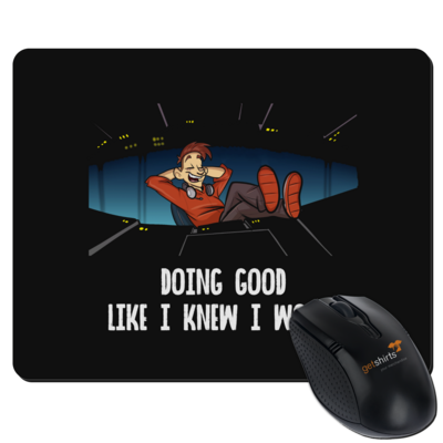 Motiv: Mousepad Textil - Lootboy - Doing Good