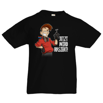 Motiv: Kids T-Shirt Premium FAIR WEAR - LootBoy - Jetzt wird rasiert