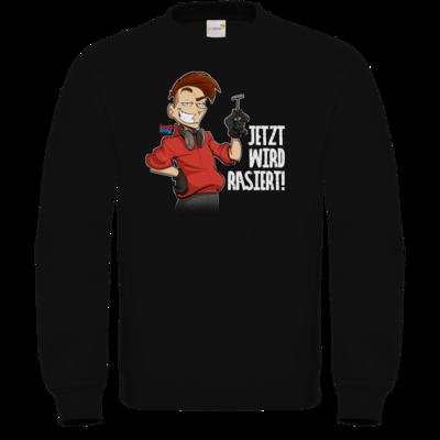 Motiv: Sweatshirt FAIR WEAR - LootBoy - Jetzt wird rasiert