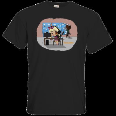 Motiv: T-Shirt Premium FAIR WEAR - North_Station - Johanna