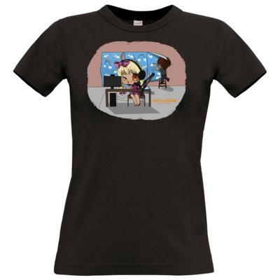 Motiv: T-Shirt Damen Premium FAIR WEAR - North_Station - Johanna