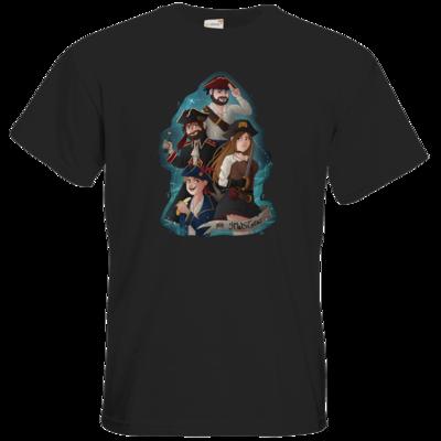Motiv: T-Shirt Premium FAIR WEAR - Gronkh - HWS Crew