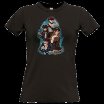 Motiv: T-Shirt Damen Premium FAIR WEAR - Gronkh - HWS Crew