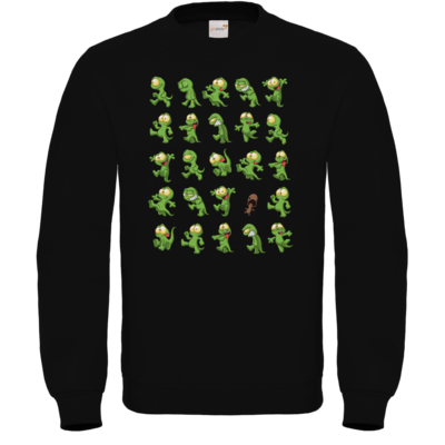 Motiv: Sweatshirt FAIR WEAR - Gronkh - Walking Lurchs