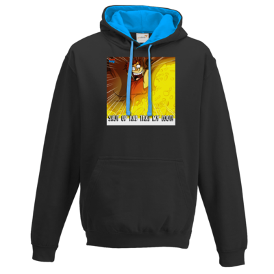 Motiv: Two-Tone Hoodie - LootBoy - Shut up and take my Loot