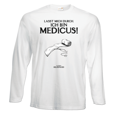 Motiv: Exact 190 Longsleeve FAIR WEAR - Alendia - Ich bin Medicus