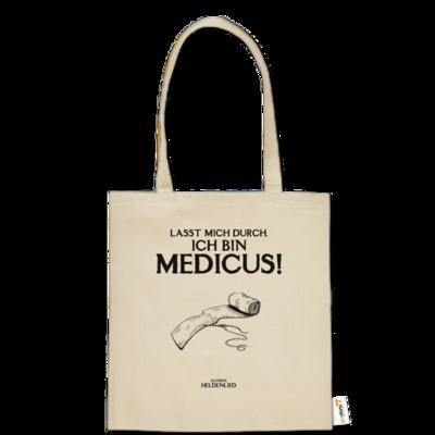 Motiv: Baumwolltasche - Alendia - Ich bin Medicus