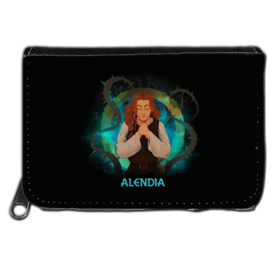 Motiv: Geldboerse - Alendia - Logo