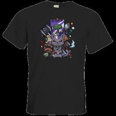 Motiv: T-Shirt Premium FAIR WEAR - CatBerry - MMO