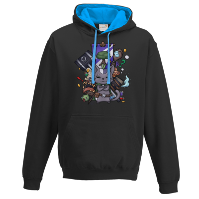 Motiv: Two-Tone Hoodie - CatBerry - MMO