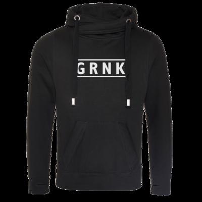 Motiv: Cross Neck Hoodie - Grnk