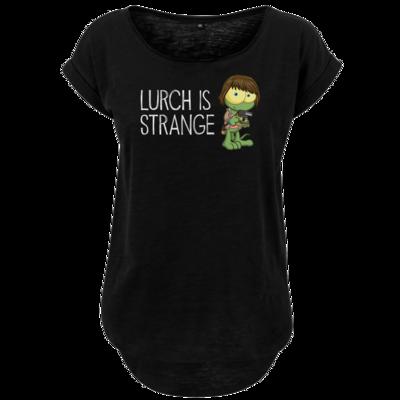 Motiv: Ladies Long Slub Tee - Lurch is Strange Max
