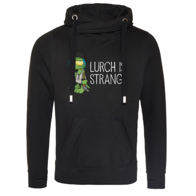 Motiv: Cross Neck Hoodie - Lurch is Strange Chloe