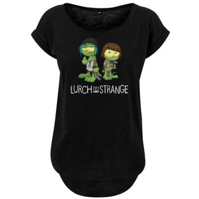 Motiv: Ladies Long Slub Tee - Lurch is Strange Max & Chloe