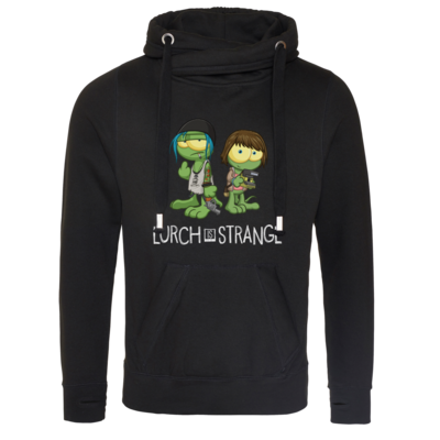 Motiv: Cross Neck Hoodie - Lurch is Strange Max & Chloe