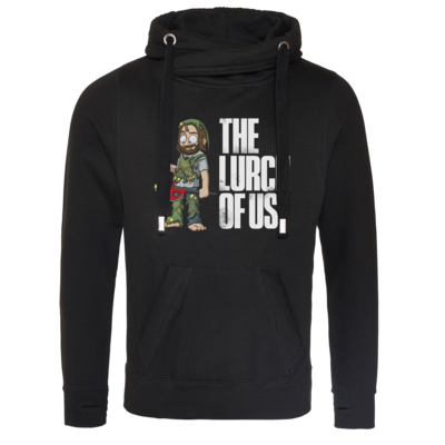 Motiv: Cross Neck Hoodie - The Lurch of us
