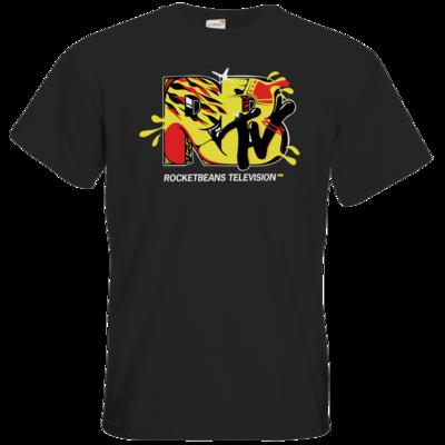 Motiv: T-Shirt Premium FAIR WEAR - Street Style - Fire