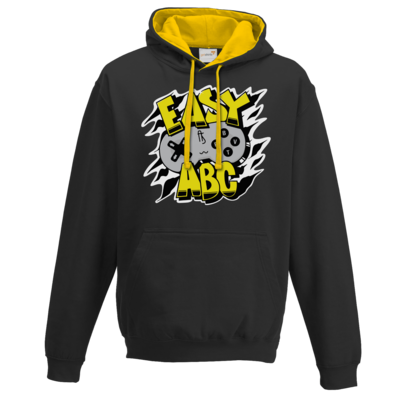 Motiv: Two-Tone Hoodie - Street Style - Easy ABC