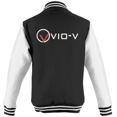 Motiv: College Jacke - Vio Entertainment - Logo 1