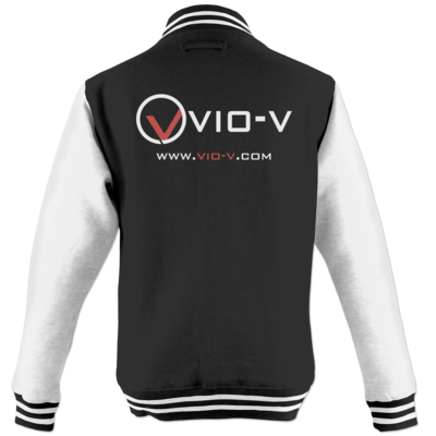 Motiv: College Jacke - Vio Entertainment - Logo 2
