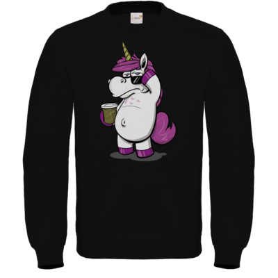 Motiv: Sweatshirt FAIR WEAR - drawinkpaper - Hank the Unicorn