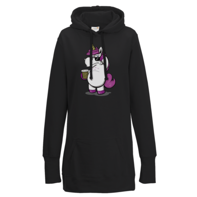 Motiv: Lady Longline Hoodie - drawinkpaper - Hank the Unicorn