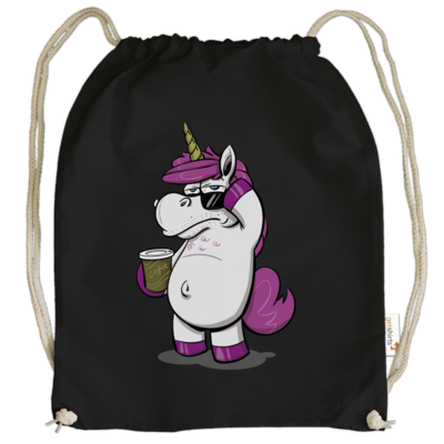 Motiv: Cotton Gymsac - drawinkpaper - Hank the Unicorn