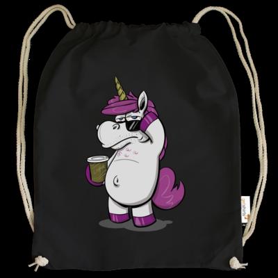 Motiv: Cotton Gymsac - drawinkpaper - Hank the Unicorn