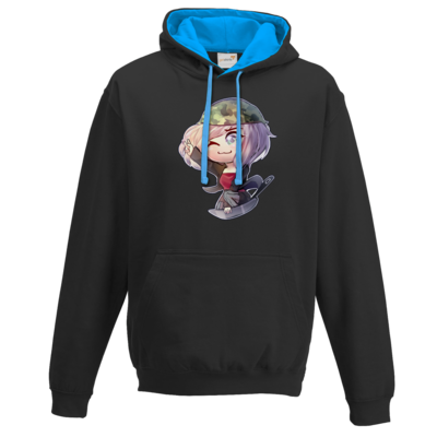 Motiv: Two-Tone Hoodie - Zayuri- Pfannen-Power