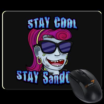 Motiv: Mousepad Textil - SandcoolTV - Stay Cool