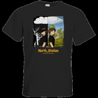 Motiv: T-Shirt Premium FAIR WEAR - North_Station - Gaming